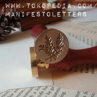 Sealing Wax Stamp Rosemary stempel lilin planner DIY envelope mail