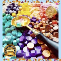 Lilin Stempel Butiran 50 Pcs Stempel Beads Lot Lilin Oktagon Seal Wax!