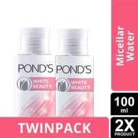 Pond's White Beauty Brightening Micellar Water [100 mL x 2pcs] Ponds