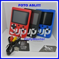 Gameboy SUP Portable Handheld Video Game Console 400in1 TANPA JOYSTICK