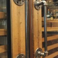 20cm Handle Door Gagang Pintu - Pipa Industrial Pipe - Rustic Vintage