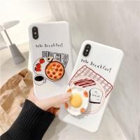 Soft Case iPhone 6/6s/6Plus/7Plus/8Plus/X/Xs/XMax BREAKFAST CASE