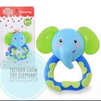 Lusty Bunny Teether Chew Toy Animal ADT-8001 2 3