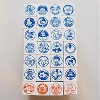36 Sublo Seasons Rubber Stamp Set
