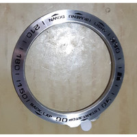 BEZEL RING UNTUK GARMIN FENIX 5X / 5X PLUS - Abu-abu