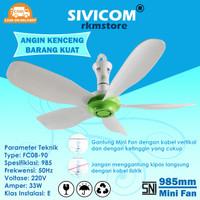 Kipas Angin Gantung SIVICOM 5Baling 33Watt