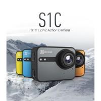 EZVIZ S1C Sport Action Camera Full HD LCD Touch Screen + Aksesoris
