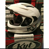 HELM KYT ENDURO SOLID WHITE