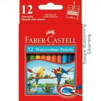 Pensil warna Faber - Castell water colour 12 pendek