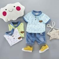 Setelan Anak Kaos Import