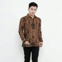 Kemeja Batik Pria Lengan Panjang Murah Baju Batik Pria Kemeja Pria 3