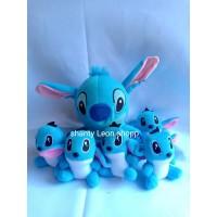 Boneka Stitch Beranak 5 MURAH !! ( Induk 20cm & Anak 10cm )
