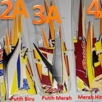 Sticker Striping Ori Standar Satria R Agresif 2005-2006 / Satria Hiu