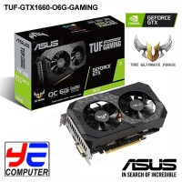 ASUS TUF GAMING GTX 1660 OC Edition - 6GB GDDR6 192-Bit