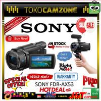 Murah Sony FDR-AX53 AX53 4K Ultra HD Handycam Camcorder