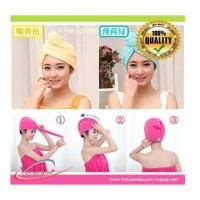HAIR TOWEL Super Absorbent Handuk Rambut Daya Serap Tinggi