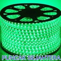 Lampu Strip Rope LED 5050 Warna hijau Green 5050 IP44
