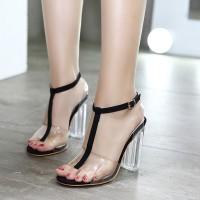 New New Fashion Sepatu Wanita Transparan