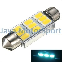 Lampu LED Festoon Double Wedge CANBUS 9 SMD 5630 39 mm - Crystal Blu