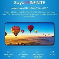 Sakina hanin store Samsung Galaxy M20(3GB/32GB)-OCEAN BLUE