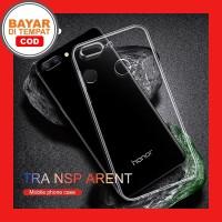 Clear Soft Case Casing Transparan Huawei Honor 9 Lite