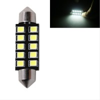 Lampu LED Kabin Plafon Mobil - Festoon CANBUS 10 SMD 2835 White