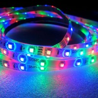Lampu Led Strip 3528 Ip44 Outdoor 5M 3 warna RGB