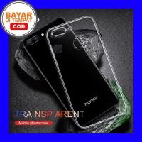 Huawei Honor 9 Lite - Clear Soft Case Casing Cover Transparan