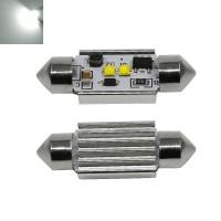 Lampu LED Kabin Plafon Mobil - Festoon CANBUS 2 SMD Cree Model B