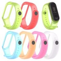 Tali Rubber Smart watch Xiaomi MI Band 3 jam tangan
