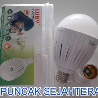 Obral Lampu Led Luby Emergency 18W 18 Watt Fungsi Powerbank 2 Bater