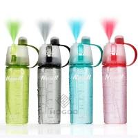 Botol Minum Spray New Button 600 ml / Sport Sprayer Air Unik B60