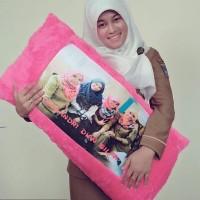 Bantal Cinta Custom 80x40 1 HARI JADI !!