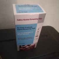 Alat Test Saliva Alkohol 25 test strip