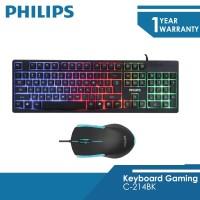 Philips C-214BK Mouse Dan Keyboard Bundle GAMING Momentum