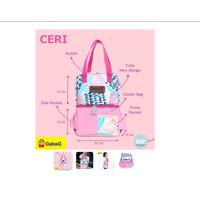 Gabag Cooler Bag Ceri Free 2 Ice Gel