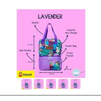 Gabag Cooler Bag Lavender Free 2 Ice Gel Gabag @500gr