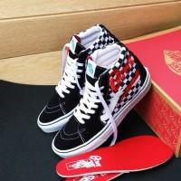 Sepatu Vans SK8 Chekerboard X David Bowie Premium BNIB