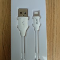 SECRET G LS372L CABLE DATA APPLE IPHONE USB TO LIGHTNING 200CM PUTIH