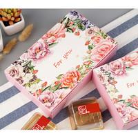 Box Kotak Floral Imlek Acara Bingkisan Vintage Paper Craft