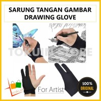 Sarung Tangan Gambar Drawing Artist Glove Tablet u/ Huion Wacom XP Pen