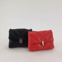 Tas Selempang Zara Quilted Maxi Crossbody Bag Original