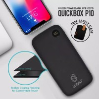 Powerbank 10000 mAh UNEED Quickbox P10 with PD and QC 3.0