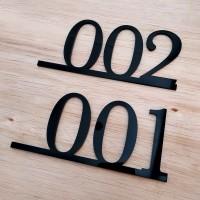 Nomor Kamar Rumah Kos Kost Hotel Sign Hiasan Dinding Acrylic