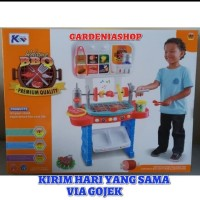 MAINAN EDUKATIF BBQ KITCHEN PLAY SET