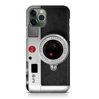 Hard Case Camera Retro Leica M9 Q For iPhone 11 - 11 Pro - 11 Pro Max