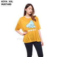 Monellina KOYA Baju Blouse Atasan XXL Jumbo Murah Wanita BTS BT21