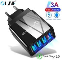 OLAF Charger USB Fast Charging QC3.0 4 Port 48W - QC-04