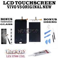 PAKET HEMAT BANYAK BONUS LCD TOUCHSCREEN VIVO V5 1601 V5S Y67 ORIGINAL