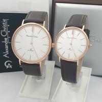 jam tangan couple Alexandre christie original AC 8625 CP